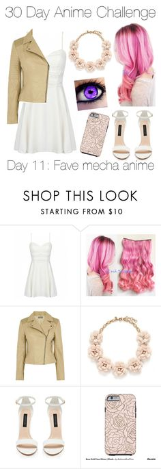 """""""Day Eleven: Code Geass"""" by xfiles11bby ❤ liked on Polyvore featuring Oasis, J.Crew and Forever New"""