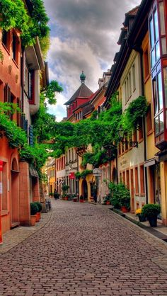 "Freiburg, Germany is the ""Jewel of the Black Forest."" Known throughout Germany for Albert Ludwig University of Freiburg, good weather, and vineyards, Freiburg is considered by Germans to be a desirable place to live. Places Around The World, Oh The Places You'll Go, Places To Travel, Places To Visit, Around The Worlds, House In Nature, Voyage Europe, Germany Travel, Germany Europe"