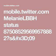 mobile.twitter.com MelanieLBBH status 875085295699578882?s=09