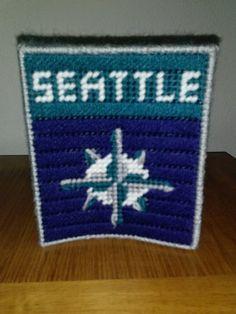 MLB Seattle Mariners  Baseball Team Plastic by melanieballestrazze, $15.00