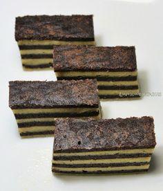 I Love. I Cook. I Bake.: Sarawak Kek Lapis Chocolate Horlicks