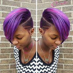 ♡ like this haircut,i wish born nigga girl