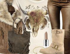 Lässiges Winteroutfit mit Jeans und Boots <3 Hier kaufen: http://www.stylefruits.de/freizeitoutfit-power-rangerin/o2871578