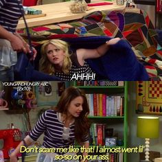 """#YoungAndHungry 2x10 """"Young & Part Two"""" - Gabi and Sofia"""
