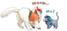 Kittyformers Ratchet and Arcee. Look! He's so grumpy and she's such a widdle kitty!