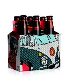 Bristol Brewing Co.'s Mass Transit VW packaging