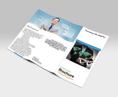Photography Brochure Template  Square Trifold Photography