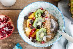 Coconut Quinoa Porridge (vegan, gluten-free) via @wallfloweraimee