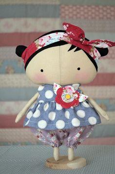 Tilda Sweetheart Dolls. Tilda's Toy Box Collection.