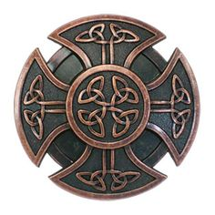 celtic shield | Ancient Celtic Shield Round Knots Cross Belt Buckle BUC070