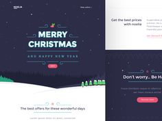 Noelia - Christmas Email Templates by Walid Benoihi #Design Popular #Dribbble #shots
