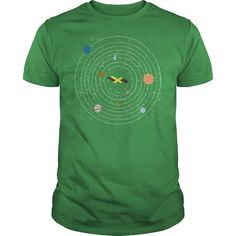 Jamaica Country In Solar System Pride Tshirt