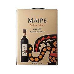 Bag In Box Maipe Malbec By Chakana Wines 3 Lts Dir De Bodega - $ 249,99 en Mercado Libre