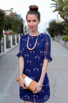the flamingo dress