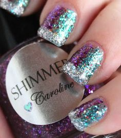 Tes Did It Nails: 31 Day Challenge : Day 17 : Glitter!!!