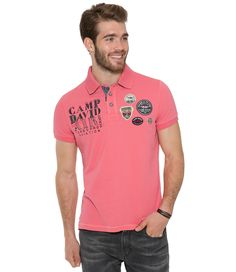 Polotričko z kolekce Aviation Camp David, Polo Shirt, T Shirt, Aviation, Polo Ralph Lauren, Mens Tops, Fashion, Supreme T Shirt, Moda