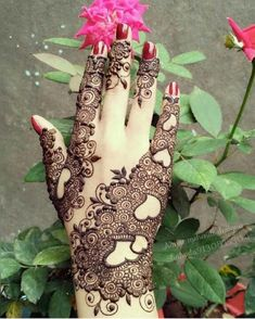 New Eid Special Mehndi Designs _ Easy and Beautiful Mehndi Design Tribal Henna Designs, Indian Henna Designs, Mehndi Designs For Girls, Eid Mehndi Designs, Simple Mehndi Designs, Mehandi Designs Images, Mehndi Design Pictures, Mehndi Images, Tattoo Designs