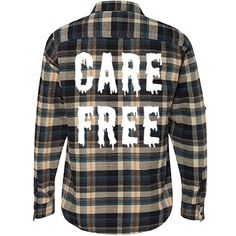 Care Free and Melting Flannel Shirts