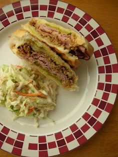 Cuban Sandwiches with mojo sauce