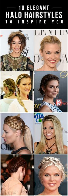 From putting bad hair days out of your look to a perfect hairstyle for your wedding gown, we've been going gaga over the versatile halo braids ...
