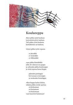 Koulureppu (Jari Tammi: Kakkikirja, Pikku-idis 2016)