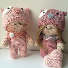 Beautiful dolls. Crochet inspiration !! ~ k8~