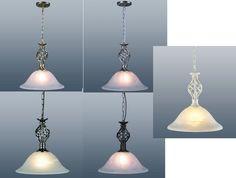 Ceiling Light Pendant Fitting Murano Glass Shade NEW