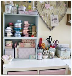 Sarah's Simply Handmade Craft Room Secrets: Take a Virtual Tour of My New Craft Room & Get some ideas for Your Hobby Room!