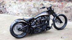 "Harley-Davidson Softail Bobber Breakout ""Sinner"" by Nine Hills⛔ WOW! Harley-Davidson Softail Bobber Breakout ""Sinner"" by Nine Hills Ducati Custom, Custom Paint Motorcycle, Custom Choppers, Motorcycle Design, Custom Bikes, Custom Baggers, Custom Cycles, Motorcycle Gear, Enfield Motorcycle"