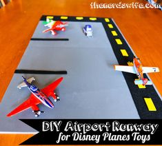 Disney Planes Toys DIY Airport Runway #WorldOfCars #Shop #CBias
