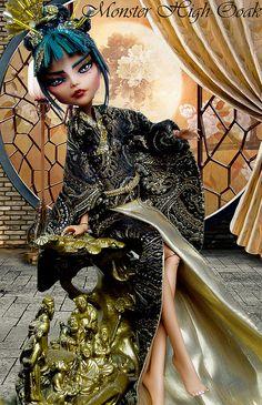 Geisha Monster High OOAK   Flickr - Photo Sharing!