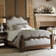 stanley furniture british colonial bed