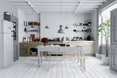 Archinteriors vol. Every scene is ready to render with professional shaders and lighting. All scenes are prepared for V-ray 3 Kitchen Models, Interior, Wood Panel Wall Decor, Kitchen Room Design, Scandinavian Style Interior, Kitchen Interior, Wood Panel Walls, Farmhouse Style Kitchen, Kitchen 3d Model