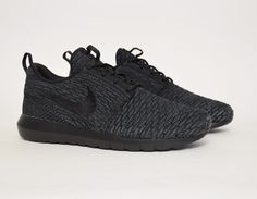 My absolute favorite. I wish I would've bought 3 pairs of these. I wear these to work and I just get a spray bottle and wipe them down after work. #nike #flyknit #rosherun