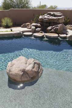 How to Make Fake Rocks for Pool Designs