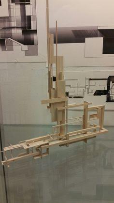 Model Site, Arch Model, Metal Art Sculpture, Concept Architecture, Le Corbusier, Urban Design, Building Design, Geometric Shapes, Wood Art