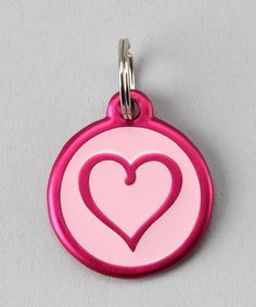 Take a look at this Pink Heart Red Dingo Pet ID Tag  by PetHub on #zulily today!  Great idea to use technology in the tag to keep our best friends safe if they should get lost!