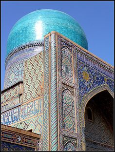Samarkand - http://www.pilotguides.com/tv_shows/globe_trekker/shows/specials/round-the-world.php