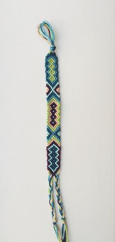 Tribal Friendship Bracelet by BraidsForBrains on Etsy
