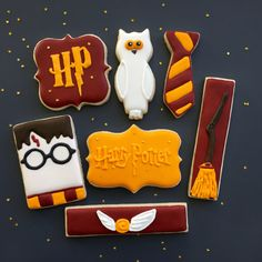Harry Potter cookies - I Bake, You Bake