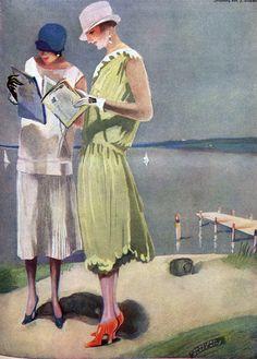 Franziska Slopsnies [Franziska Schlopsnies], Meggendorfer-Blätter cover art, 1926