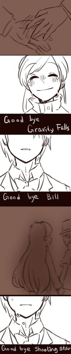 Art by 黑石川 (@wsx57523)   Mabill — Goodbye   Twitter