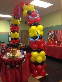 Fiesta Mickey Mouse, Mickey Mouse Balloons, Mickey Mouse Bday, Mickey Party, Mickey Mouse Clubhouse, Mickey Mouse Birthday, Mickey Minnie Mouse, 1st Birthdays, 1st Birthday Parties