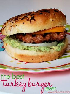 Alyson M: The Best Turkey Burger ever #recipe #grilling #summer