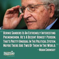 Integrity and consistency are treasures unique to #BernieSanders in this election cycle.