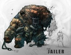 #ConceptArt of the Jailer from #Darksiders by #JoeMadureira