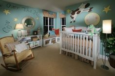 Shryne Design Projects - eclectic - kids - Shryne Design so cute cow jumped over the moon