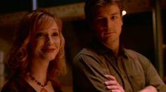 Firefly. Christina Hendricks and Nathan Fillion.
