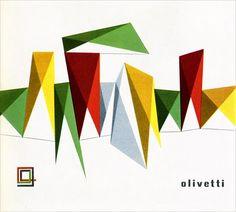Giovanni Pintori. Olivetti Booklet Cover. 1957.