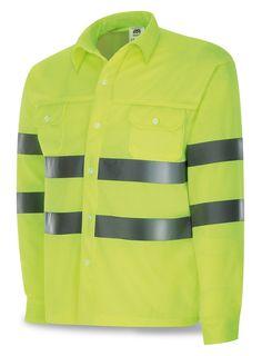 63e20dddee1a5 Camisa Alta Visibilidad. Tejido Poliéster especial de alta transpirabilidad  y absorción de sudor.
